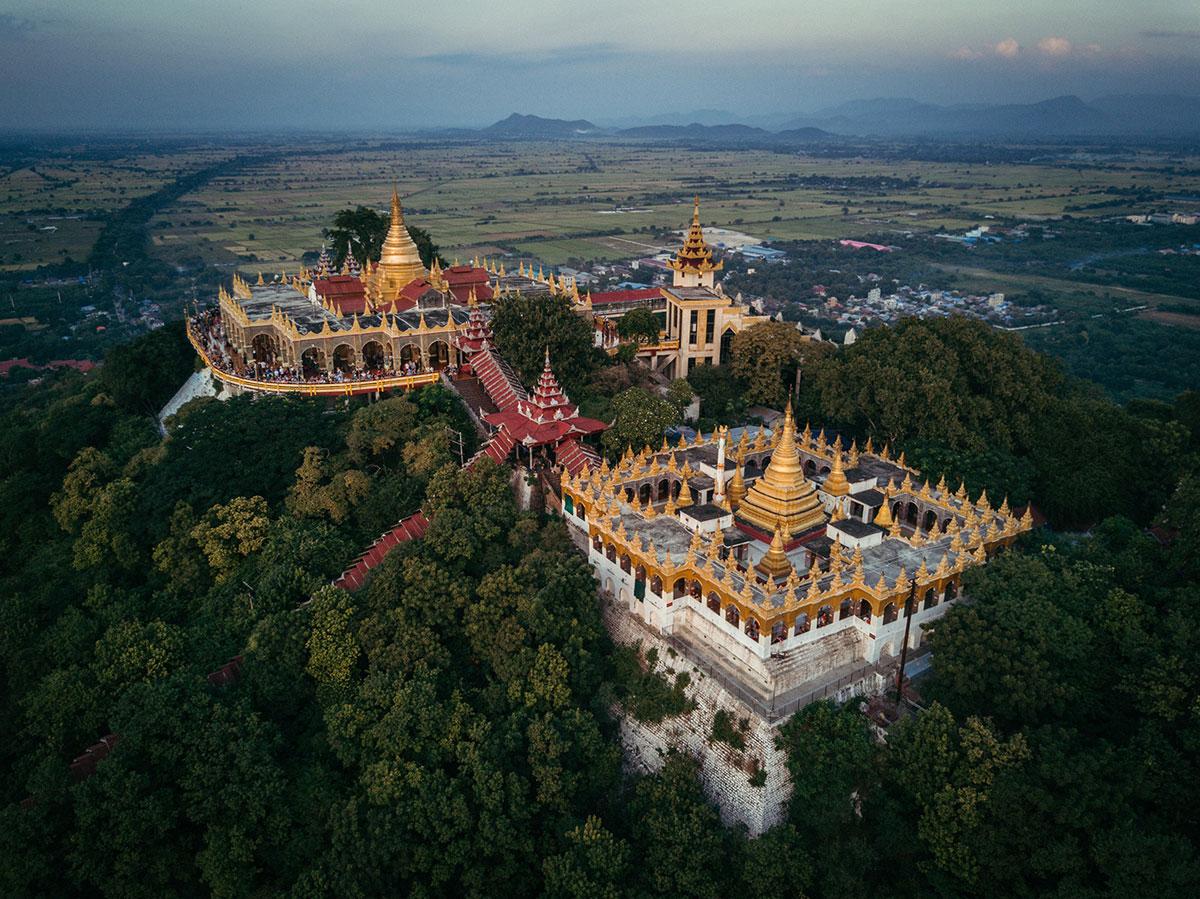 เวลาที่ดีที่สุดสำหรับเพื่อการเยี่ยมชมประเทศพม่า